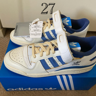 adidas - ADIDAS ORIGINALS FORUM 84 low Blue 27cm