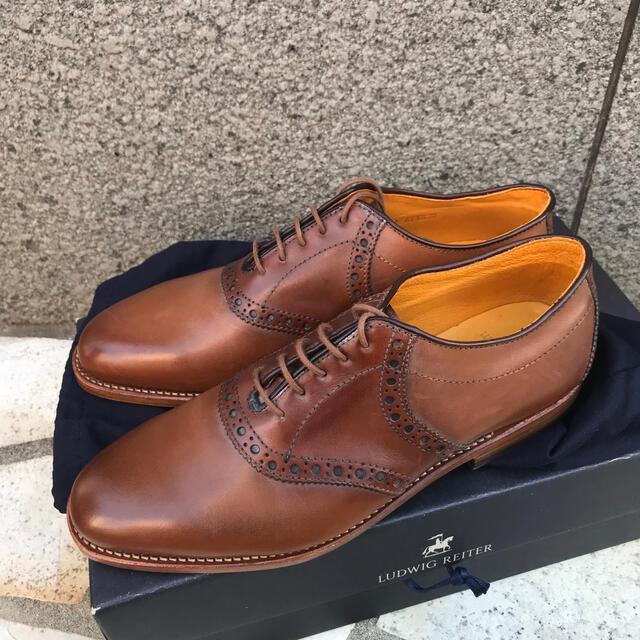 LUDWIG REITER(ルーディックライター)の『値下げ』新品未使用ルーディックライター 8 ダービーシューズ メンズの靴/シューズ(ドレス/ビジネス)の商品写真