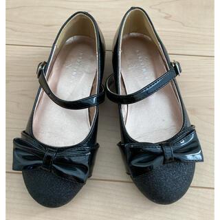クミキョク(kumikyoku(組曲))の組曲フォーマル靴黒18cm(フォーマルシューズ)