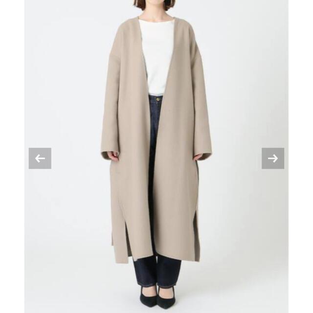 IENA(イエナ)の定価5.9万 IENA MANTECOダブルフェイスコート レディースのジャケット/アウター(ロングコート)の商品写真
