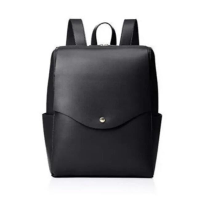 Legato Largo(レガートラルゴ)の【送料込】Legato Largo 軽量 リュック ブラック レガートラルゴ レディースのバッグ(リュック/バックパック)の商品写真