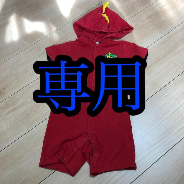 HYSTERIC MINI(ヒステリックミニ)のヒステリックミニ ④ キッズ/ベビー/マタニティのベビー服(~85cm)(ロンパース)の商品写真