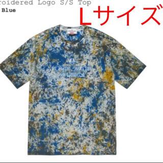 シュプリーム(Supreme)のサイズL supreme  stone island  top 値下げ不可(Tシャツ/カットソー(半袖/袖なし))