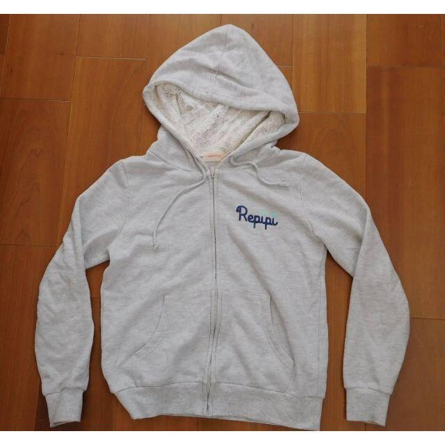 repipi armario(レピピアルマリオ)のrepipi armario レピピアルマリオ★パーカー Mサイズ グレー レディースのトップス(パーカー)の商品写真