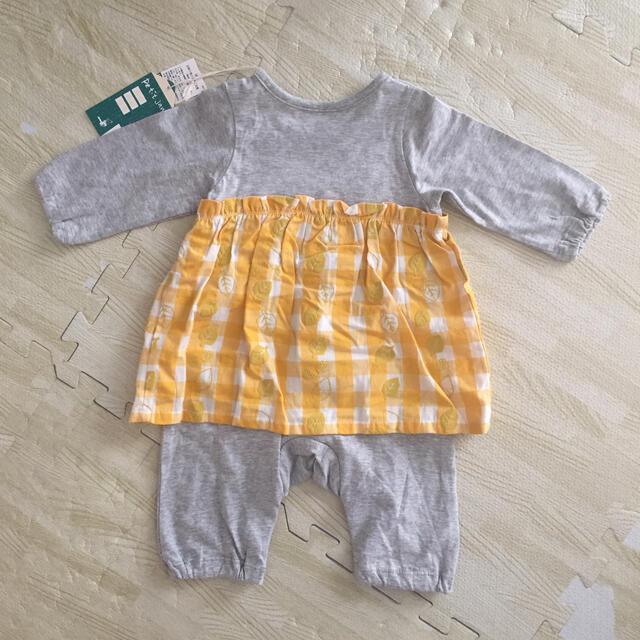 Petit jam(プチジャム)のプチジャム ロンパース キッズ/ベビー/マタニティのベビー服(~85cm)(ロンパース)の商品写真