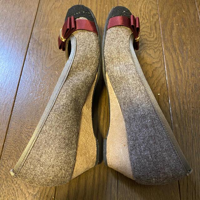 vanitybeauty(バニティービューティー)の【vanity beauty】レーストゥウェッジパンプス レディースの靴/シューズ(ハイヒール/パンプス)の商品写真