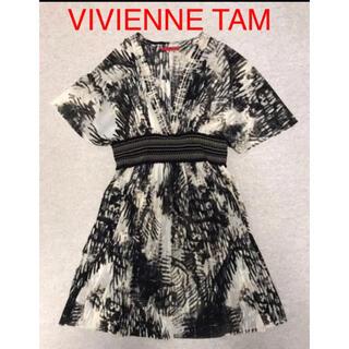 ヴィヴィアンタム(VIVIENNE TAM)の《美品》ヴィヴィアンタム⭐︎ VIVIENNE TAM⭐︎ワンピース(ひざ丈ワンピース)