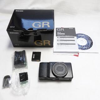 RICOH - [RICOH] GRⅡ ブラック カメラ