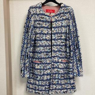UNITED ARROWS - Coohem 米富繊維コーヘンミックスツイードニットジャケット新品 日本製