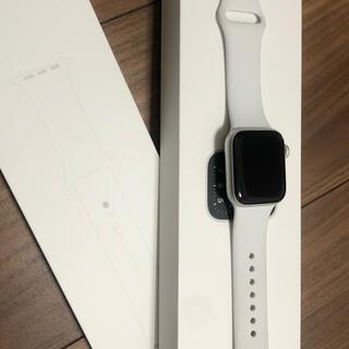 Apple Watch - Apple Watch SE 40mm シルバー(GPSモデル)