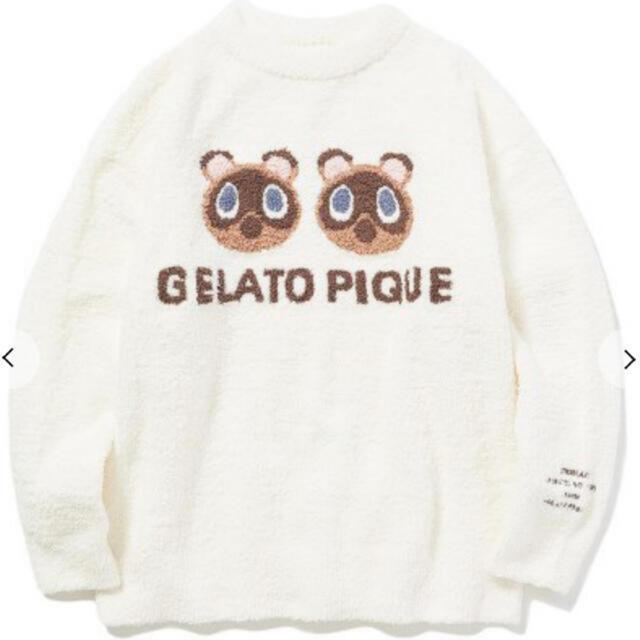 gelato pique(ジェラートピケ)のジェラートピケ  つぶまめ ジャガード プルオーバー レディースのルームウェア/パジャマ(ルームウェア)の商品写真