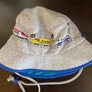 motherways - 54cm 男の子 新幹線 帽子 ドクターイエロー はやぶさ  700系 こまち