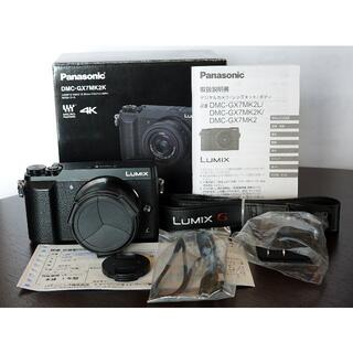 Panasonic - 超美品、シャッター数459回、LUMIX DMC-GX7MK2 標準レンズキット