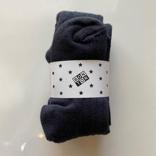 ボンポワン(Bonpoint)の未開封品♡ボントン タイツ(靴下/タイツ)