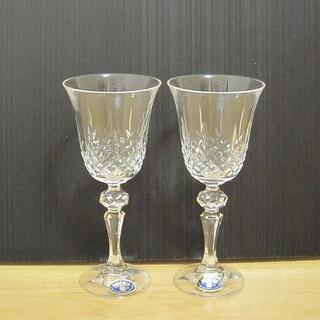 ボヘミア クリスタル(BOHEMIA Cristal)の新品訳あり BOHEMIA ボヘミア ハンドクラフトクリスタル ワイングラス(ガラス)