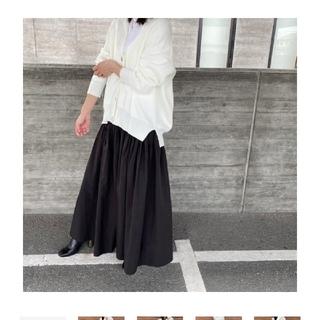 Drawer - dolce. ボリュームフレアスカート ブラック