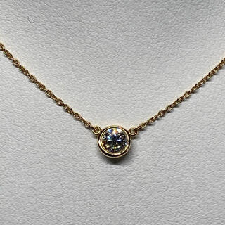Tiffany & Co. - ティファニー バイザヤード ダイヤモンドネックレス 大粒