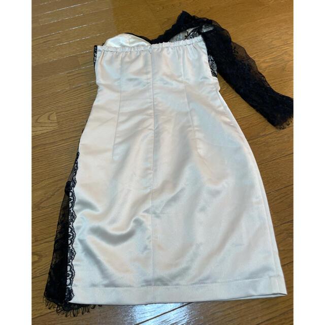 ROBE(ローブ)のローブドフルール グロスオブレーシードレス(GL1919) レディースのフォーマル/ドレス(ミニドレス)の商品写真