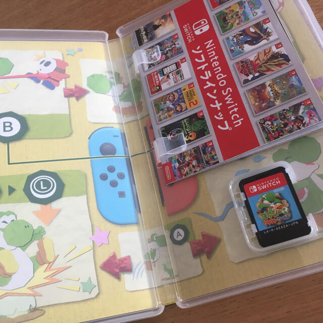 Nintendo Switch(ニンテンドースイッチ)のヨッシークラフトワールド Switch エンタメ/ホビーのゲームソフト/ゲーム機本体(家庭用ゲームソフト)の商品写真