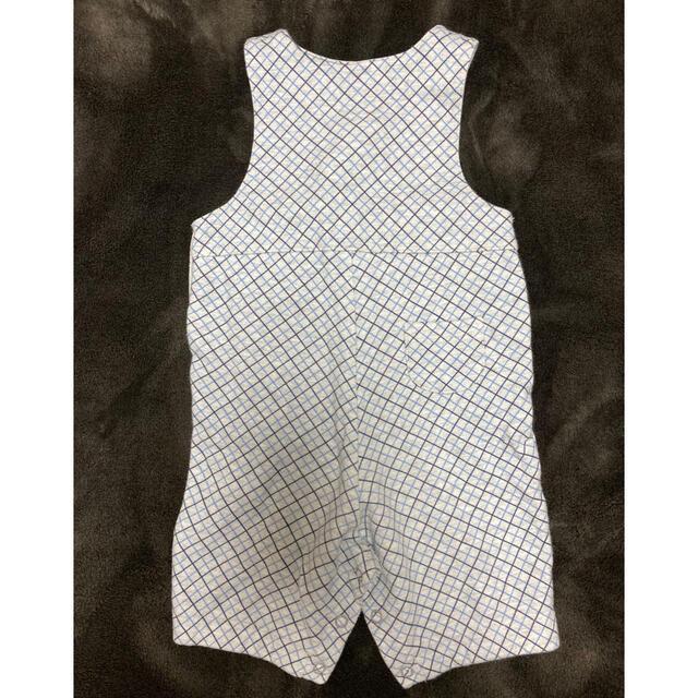 familiar(ファミリア)のファミリア  カバーオール サロペット キッズ/ベビー/マタニティのベビー服(~85cm)(カバーオール)の商品写真