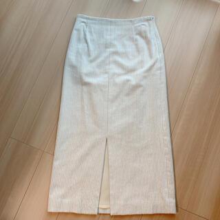 TOMORROWLAND - レーヨンコットンコーデュロイIラインタイトスカート 34