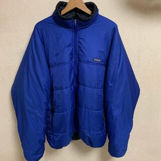 patagonia - 99年製 USA製 Patagonia ファイヤーボールジャケット ブルー 黒青