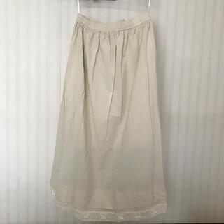 SM2 - タグ付き!裾重ねレースペチスカート