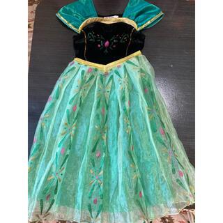 Disney - アナとドレス120cm