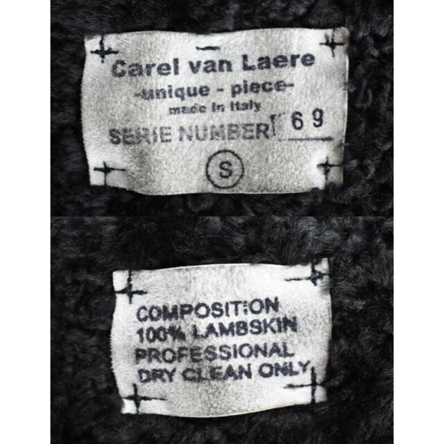 Ron Herman(ロンハーマン)のCarel van Laere  リアルムートンジャケット定価16万 メンズのジャケット/アウター(フライトジャケット)の商品写真