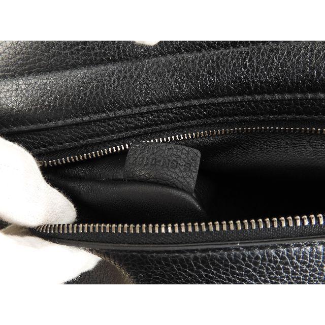 celine(セリーヌ)のセリーヌ トラペーズ マットシルバー金具 レザー黒 s付ハンドバッグ 極美品@1 レディースのバッグ(ハンドバッグ)の商品写真