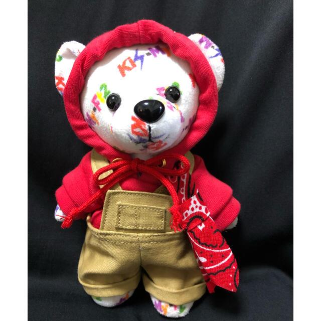 Kis-My-Ft2(キスマイフットツー)のキスマイベア衣装 パーカー&サロペット あか エンタメ/ホビーのタレントグッズ(アイドルグッズ)の商品写真