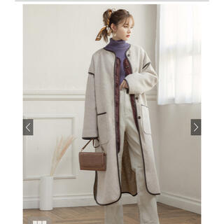GRL - グレイル パイピングコート