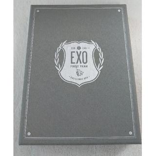 エクソ(EXO)のEXO'S  FIRST BOX DVD4枚組(ミュージック)