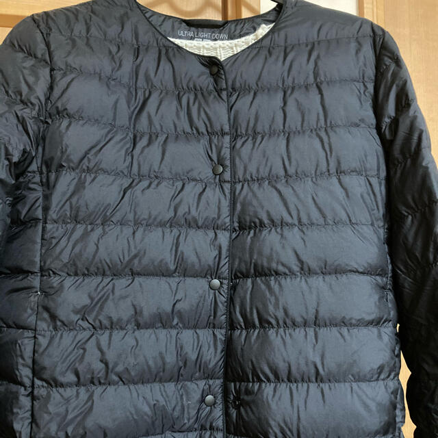 UNIQLO(ユニクロ)のウルトラライトダウン L ブラック レディースのジャケット/アウター(ダウンコート)の商品写真