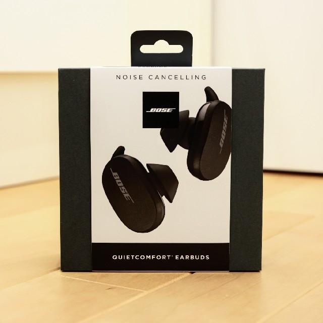 BOSE(ボーズ)の極美品 Bose QuietComfort Earbuds トリプルブラック スマホ/家電/カメラのオーディオ機器(ヘッドフォン/イヤフォン)の商品写真