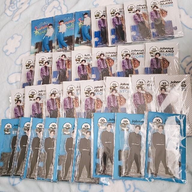 松村北斗 SixTONES アクリルスタンド エンタメ/ホビーのタレントグッズ(アイドルグッズ)の商品写真