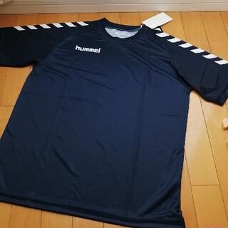 ヒュンメル(hummel)の新品☆Lサイズ ヒュンメルゲームシャツ半袖(トレーニング用品)