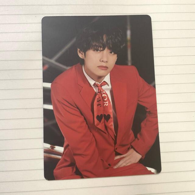 防弾少年団(BTS)(ボウダンショウネンダン)のテヒョン ミニフォト 1 one on:e トレカ bts エンタメ/ホビーのCD(K-POP/アジア)の商品写真