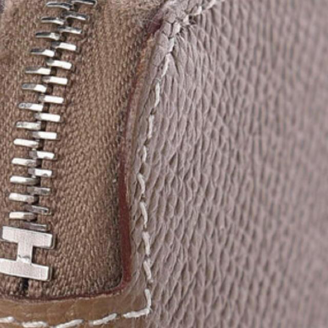 Hermes(エルメス)の大変美品・エルメス・シルクイン・エトゥープ レディースのファッション小物(財布)の商品写真