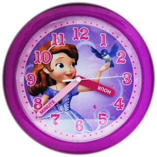 ディズニー(Disney)のディズニー/小さなプリンセス/ソフィア/25cm/掛け時計(掛時計/柱時計)