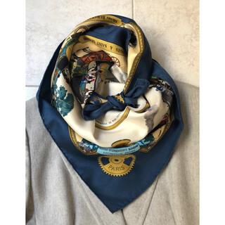 エルメス(Hermes)の専用 トラッドデザイン&カラー エルメス スカーフ カレ90(バンダナ/スカーフ)