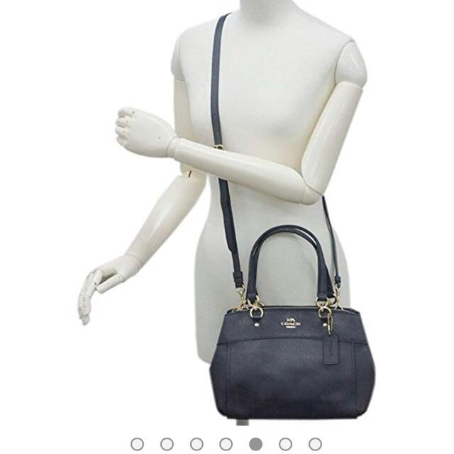 COACH(コーチ)のコーチCOACH  ショルダーバッグ 2way ハンドバッグ(ミッドナイト) レディースのバッグ(ショルダーバッグ)の商品写真
