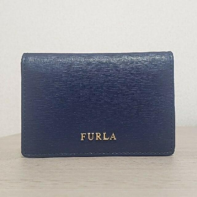Furla(フルラ)の【美品】FURLA 名刺入れ レディースのファッション小物(名刺入れ/定期入れ)の商品写真