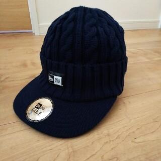 ☆ニューエラつば付きニット帽(ニット帽/ビーニー)