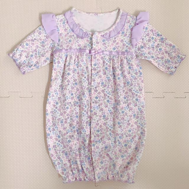 Nishiki Baby(ニシキベビー)のsweet girl  小花柄ロンパース キッズ/ベビー/マタニティのベビー服(~85cm)(ロンパース)の商品写真