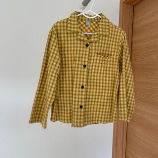 マーキーズ(MARKEY'S)の韓国子供服 monmimi モンミミ購入 チェックシャツ(Tシャツ/カットソー)