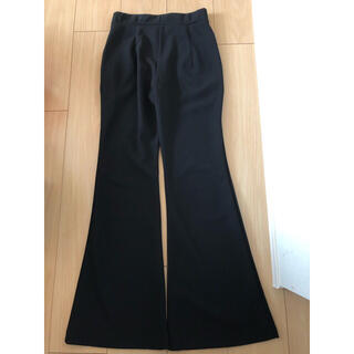 GRL - GRL  Sサイズ 黒フレアパンツ