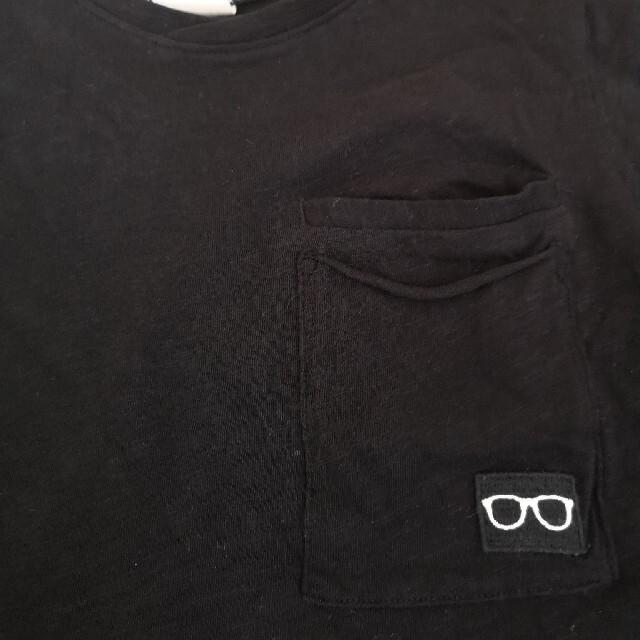ZARA KIDS(ザラキッズ)のZARA BOYS★半袖Tシャツ 120  黒 キッズ/ベビー/マタニティのキッズ服男の子用(90cm~)(Tシャツ/カットソー)の商品写真