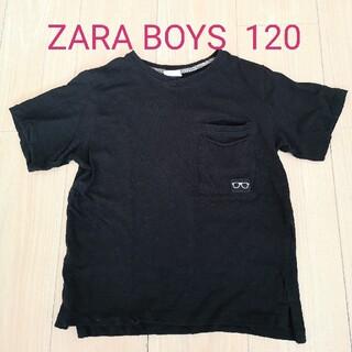 ZARA KIDS - ZARA BOYS★半袖Tシャツ 120  黒