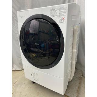 トウシバ(東芝)の2019年製 東芝ドラム式洗濯乾燥機11.0kg ザブーン TW-117A8L(洗濯機)